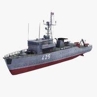 3d model sonya minesweeper