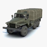 Ural-375 Flatbed