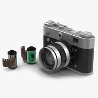 vintage film camera 3 max