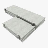 concrete road slabs