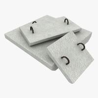 concrete fastening slabs s