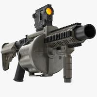 max grenade launcher milkor mgl-140