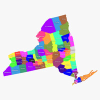 3ds max new york counties