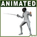 fencer 3D models