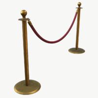 stanchion velvet rope max