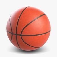 basketball ball basket 3d 3ds
