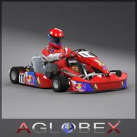 Go-kart for mobile games