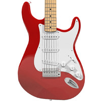 Guitar Fender Stratocaster Red Finish