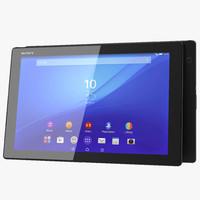sony xperia z4 tablet 3d max