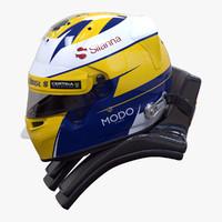 max racing helmet marcus ericsson