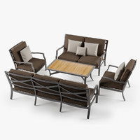 max set lounge chair 2