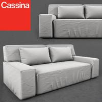 cassina myworld 244-11-hp 3d model