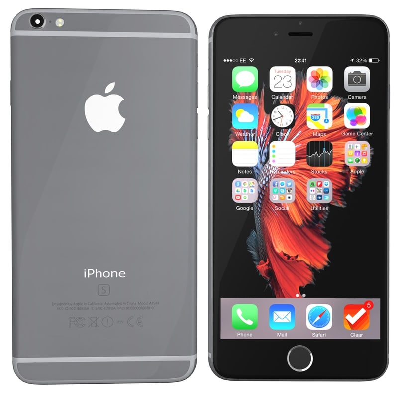 iphone 6s models 3d modelled iphone 6s spacegrey model 11486