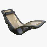 rio chaise longue black max