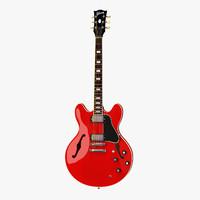 Gibson ES-335 Semi-Hollowbody Guitar Red