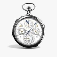 vacheron constantin 57260 pocket watch 3d obj