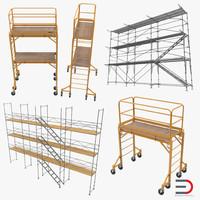 3dsmax scaffolding set pipe