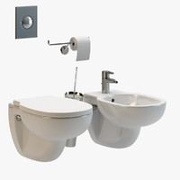Duravit Foster Wall Mounted Bathrooms Fixtures