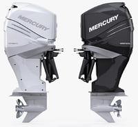 mercury verado 350 power 3d model