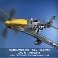 3d north american - lou model