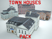 max buildings town houses pack