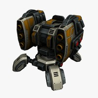 3ds max missile launcher
