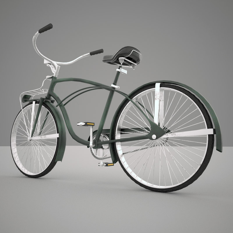 obj bicycle exterior interior