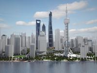 Shanghai Tower Downtown
