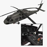 UH-60M Blackhawk with nice interior
