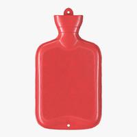 3d hot water bottle model