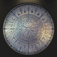 Stained glass window round (6)