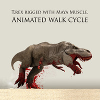 Animated T.rex