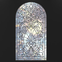 Stained-glass window arc (2)