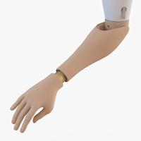 3d prosthetic arm model