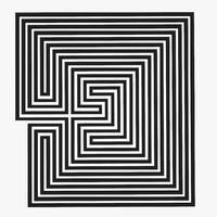 Maze Labyrinth Geometry V.2