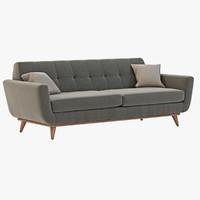 3d model joybird hughes sofa