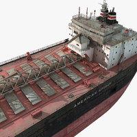 oil tanker 3d max