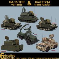3d model variants sa-15 gauntlet