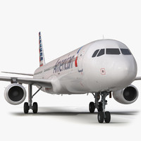 Airbus A321 American Airlines Rigged