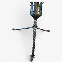 Medieval Torch 2