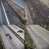 cracked roads details max