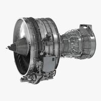 Turbofan Aircraft Engine CFM International CFM56