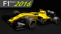3d renault rs16 2016