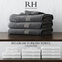 3d 802-gram turkish towel collections model
