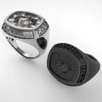 Man Seal Ring