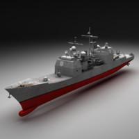 Aegis Cruiser CG-47