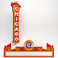 Chicago Theatre Entrance