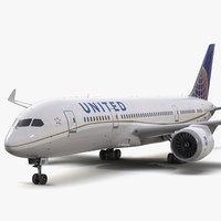 Boeing 787-3 Dreamliner United Airlines