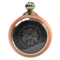 hd wooden watch gold 3d fbx