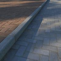 3d model paving curb
